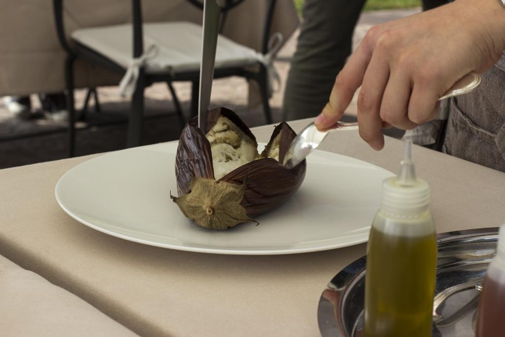 melanzana alla parmigiana, Lido 84, Chef Riccardo Camanini, Gardone Riviera