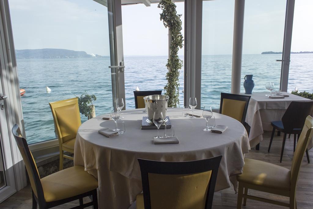 tavolo a vista, Lido 84, Chef Riccardo Camanini, Gardone Riviera