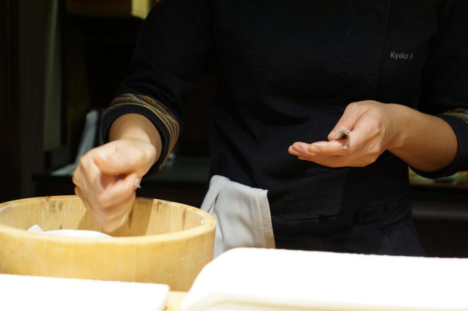 preparazione, Pakta, Chef Albert Adrià, Kyoko li, Jorge Muñoz, Barcellona
