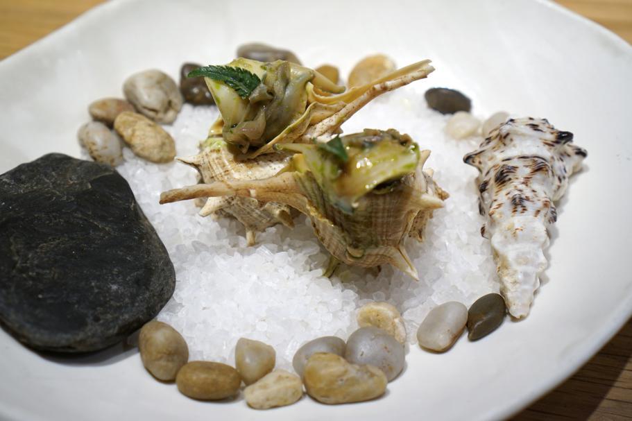 lumaca di mare, Pakta, Chef Albert Adrià, Kyoko li, Jorge Muñoz, Barcellona
