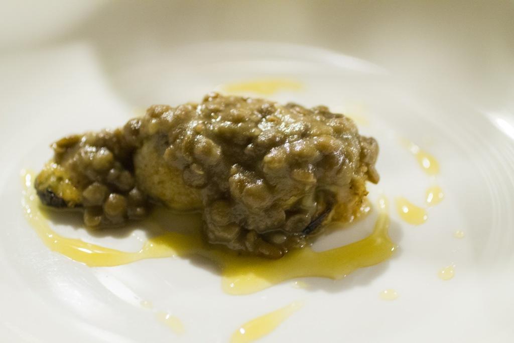 cozze lardellate, Signum, Chef Martina Caruso, Salina