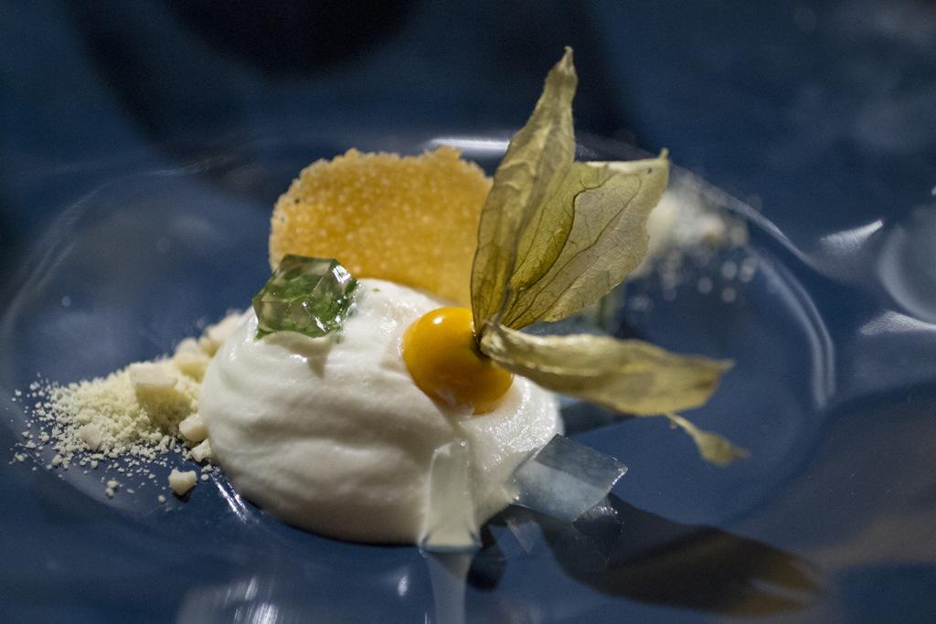 mousse di yogurt, Signum, Chef Martina Caruso, Salina