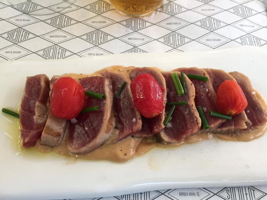 tonno, Suculent, Chef Antonio Romero, Barcellona