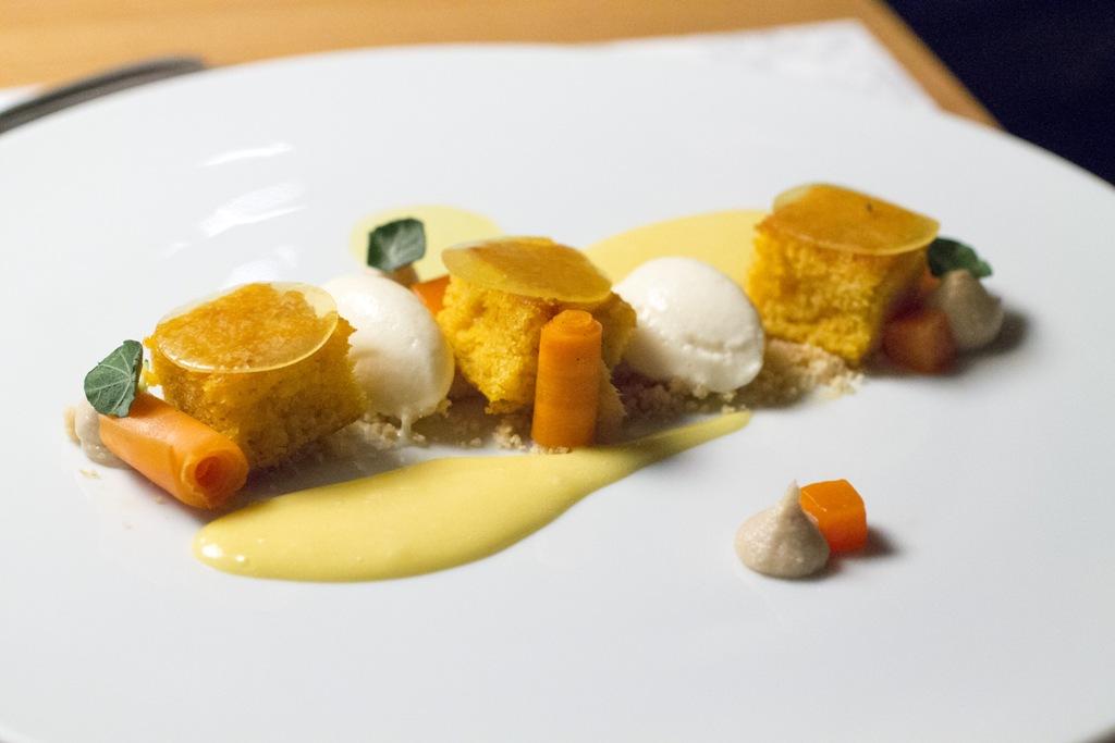 carota, sesamo, Tanti, Chef Heiszler Olivér, Budapest, Ungheria