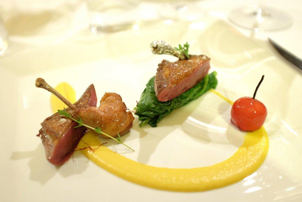 piccione, Taverna Estia, Chef Francesco Sposito, Brusciano