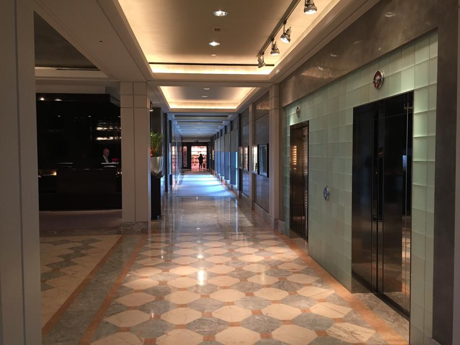 lungo corridoio, Hotel Arts Barcelona, The Ritz-Carlton, Barcellona