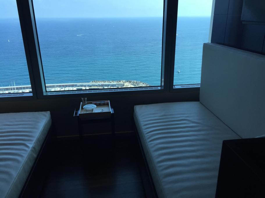 vista mare, Hotel Arts Barcelona, The Ritz-Carlton, Barcellona