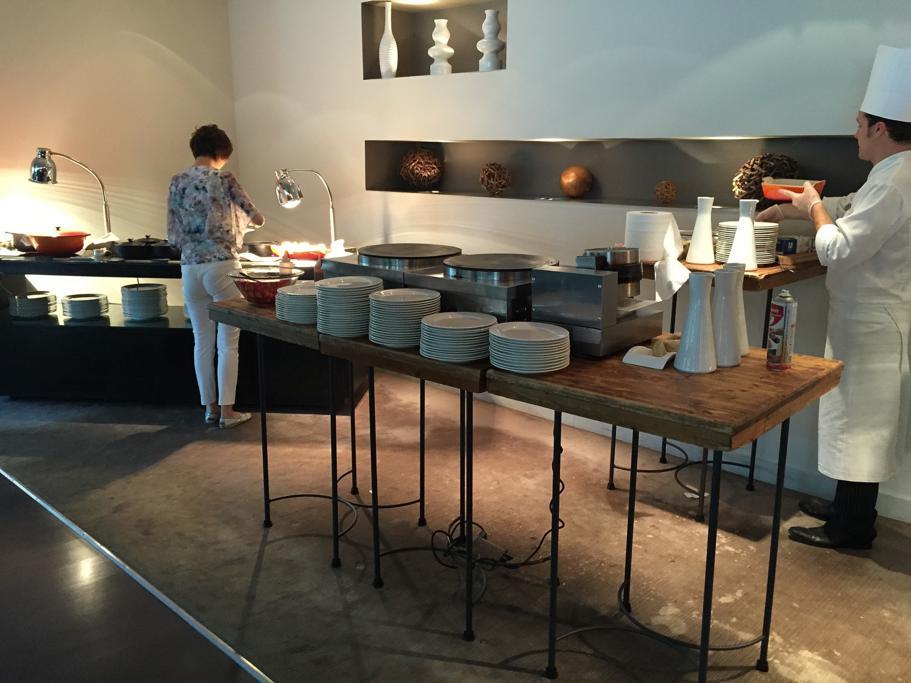 buffet colazione, Hotel Arts Barcelona, The Ritz-Carlton, Barcellona