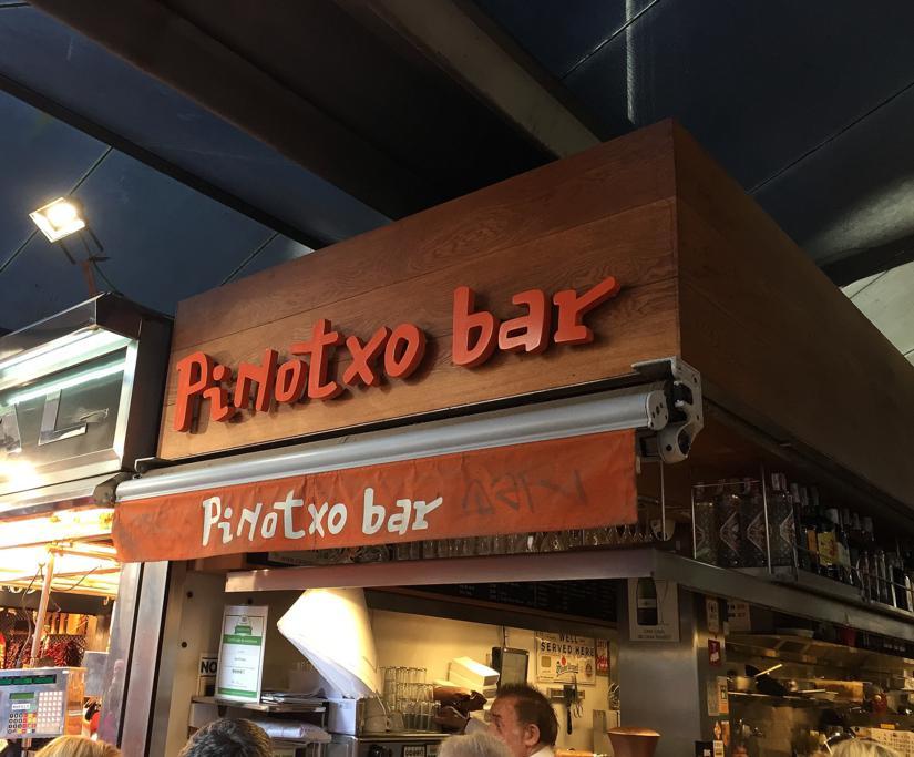 Bar Pinotxo, Barcellona, Mercado de la Boquería