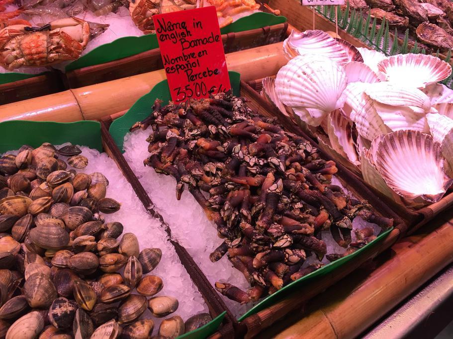 Barcellona, Mercado de la Boquería