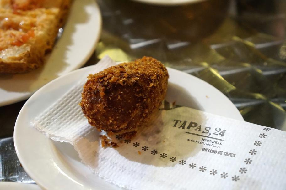 Crocchetta di pollo, Tapas24, Barcellona