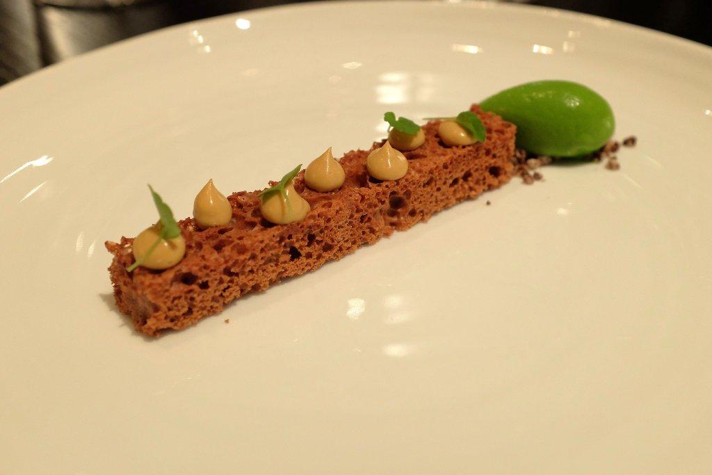 cioccolato areato, Berton, Chef Andrea Berton, Milano