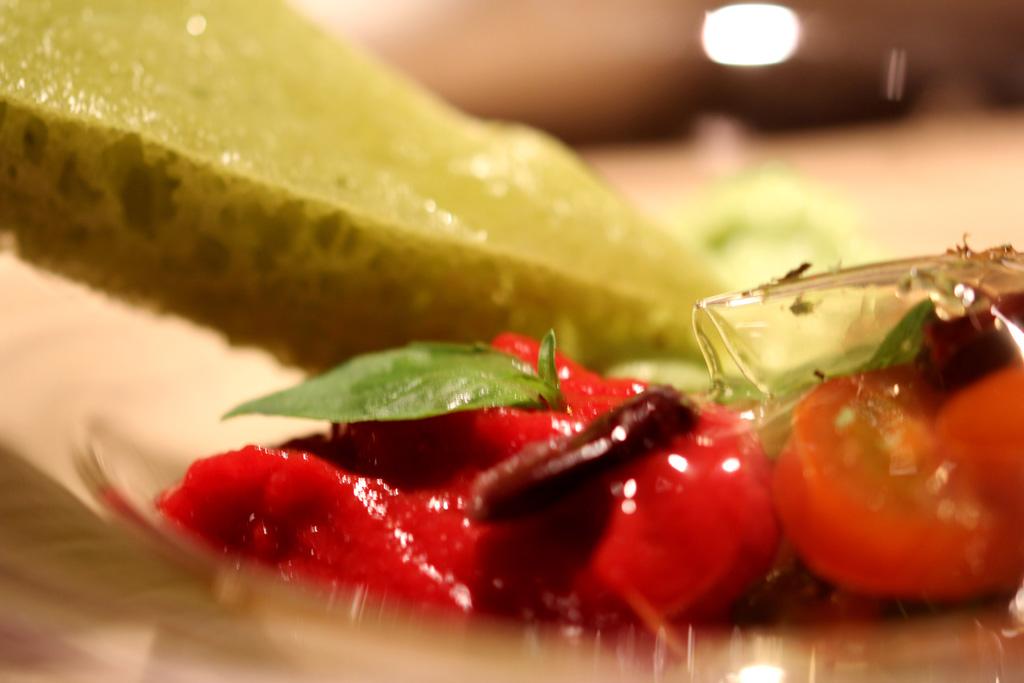 scarpetta verde, Le Calandre, Chef Massimiliano Alajmo, Sarmeola di Rubano
