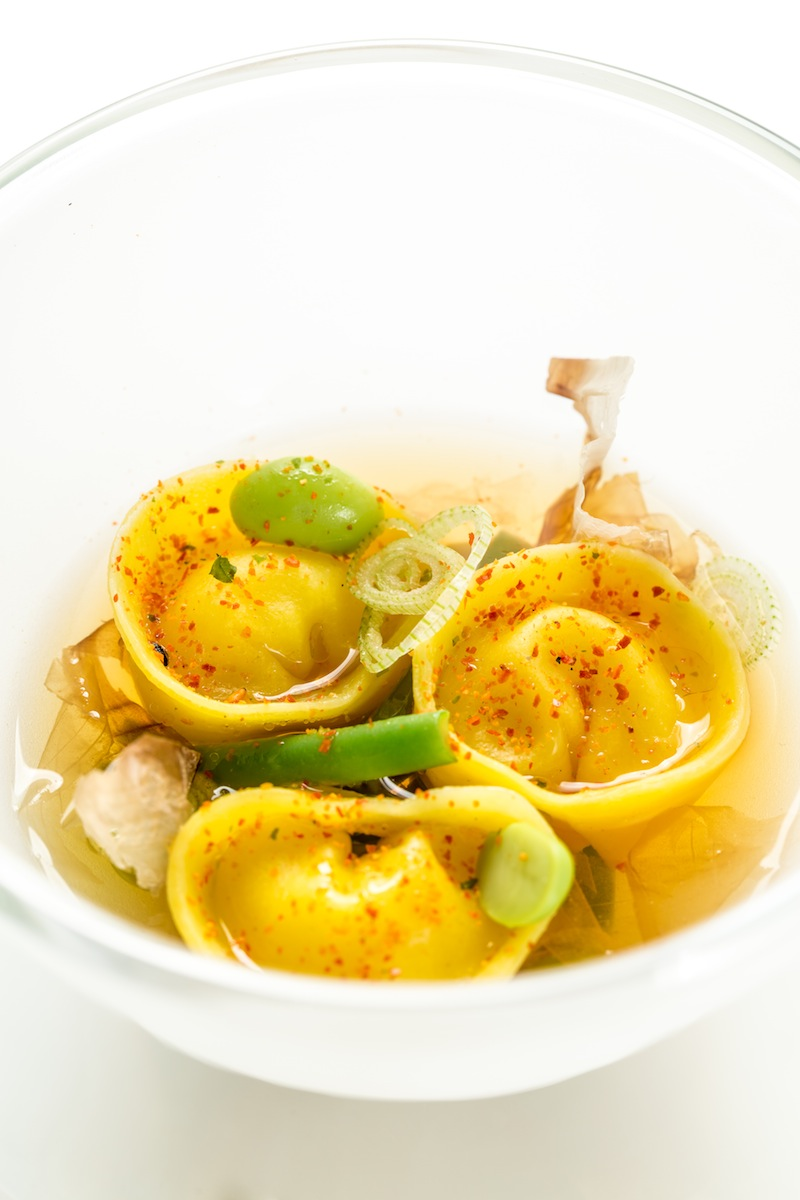 ravioli, Imàgo, Chef Francesco Apreda, Milano