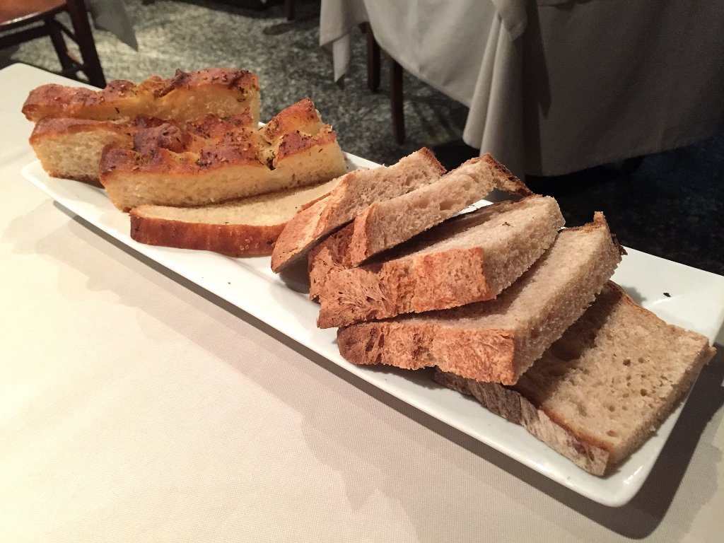 pane, Hostaria del Vecchio Portico, Arona, Novara