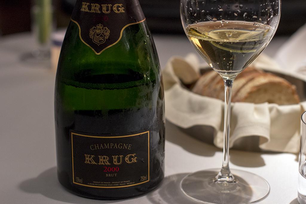 Krug, Seta, Chef Antonio Guida, Mandarin Oriental, Milano