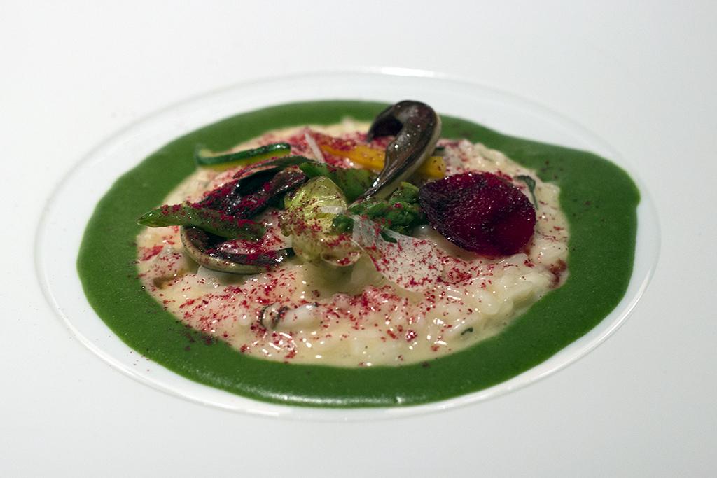 riso in cagnone, Seta, Chef Antonio Guida, Mandarin Oriental, Milano