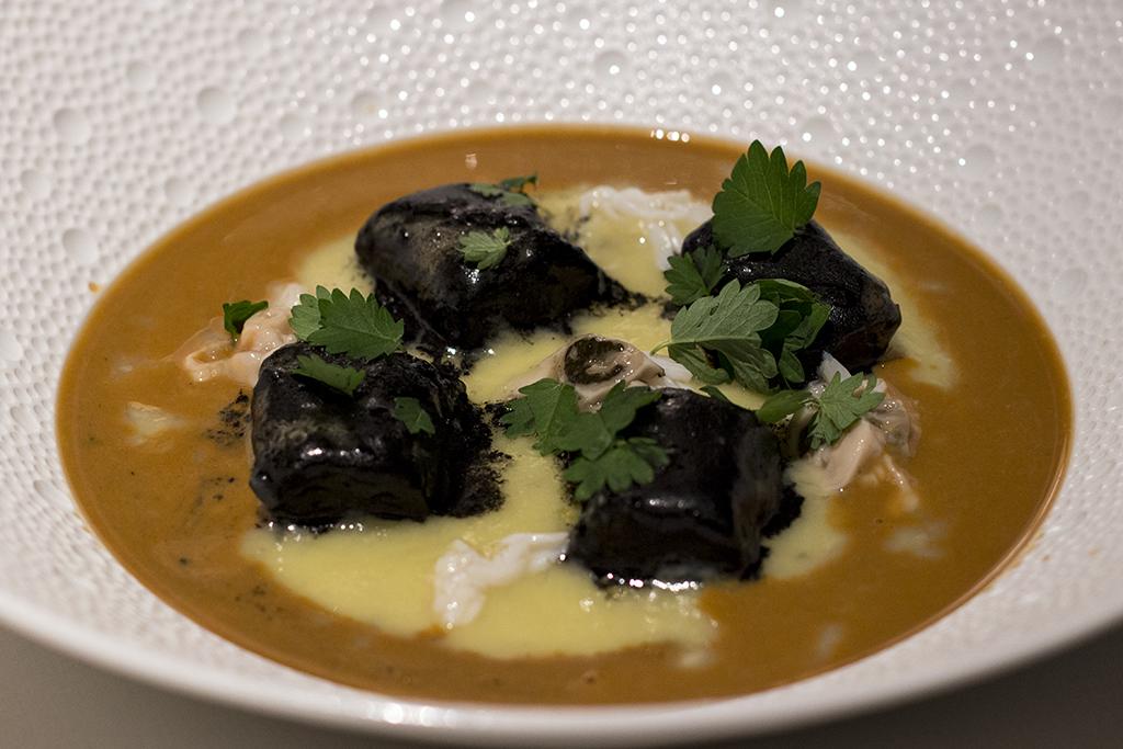 gnocchi, Seta, Chef Antonio Guida, Mandarin Oriental, Milano