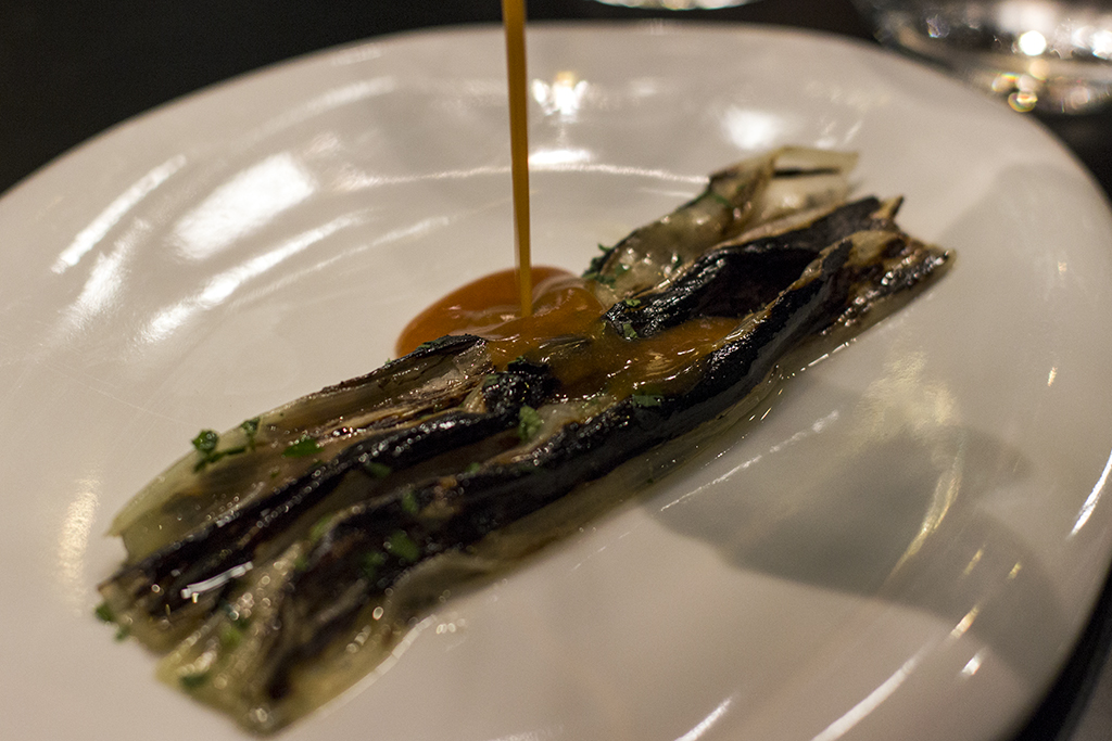 cannolicchi nel porro, Tokuyoshi, Chef Yoji Tokuyoshi, Milano