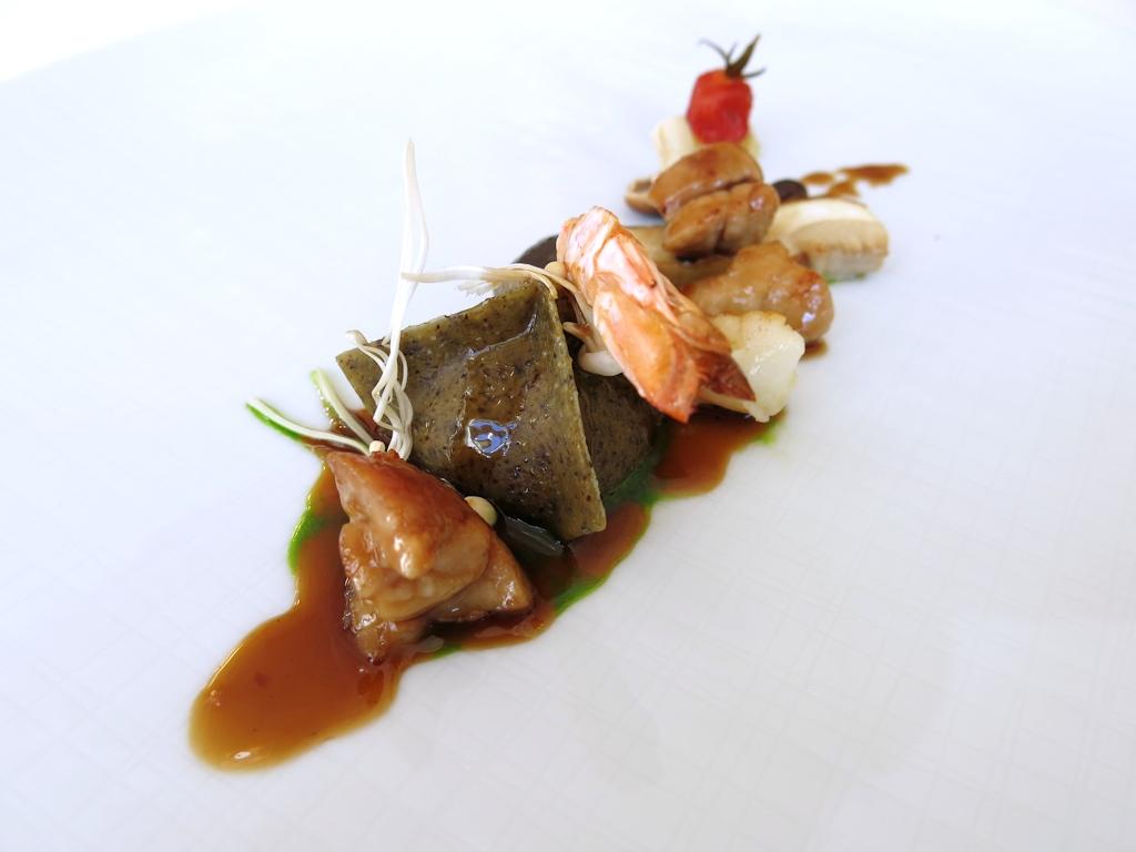 ravioli di semi di canapa, Vespasia, Chef Emanuele Mazzella, Norcia