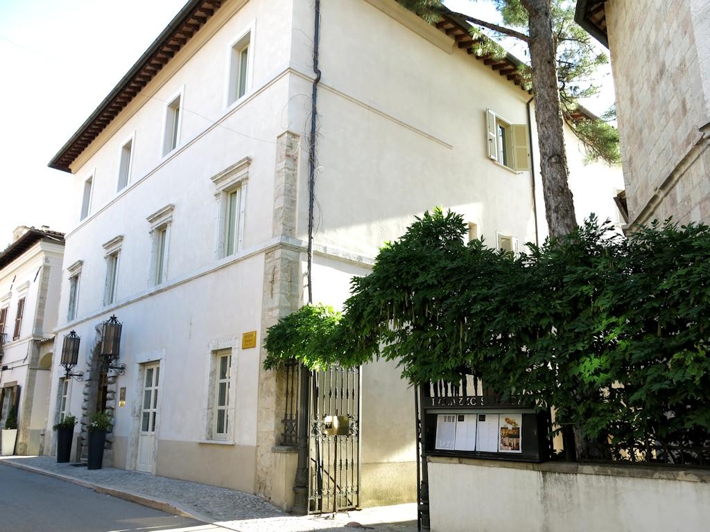 palazzo seneca, Vespasia, Chef Emanuele Mazzella, Norcia
