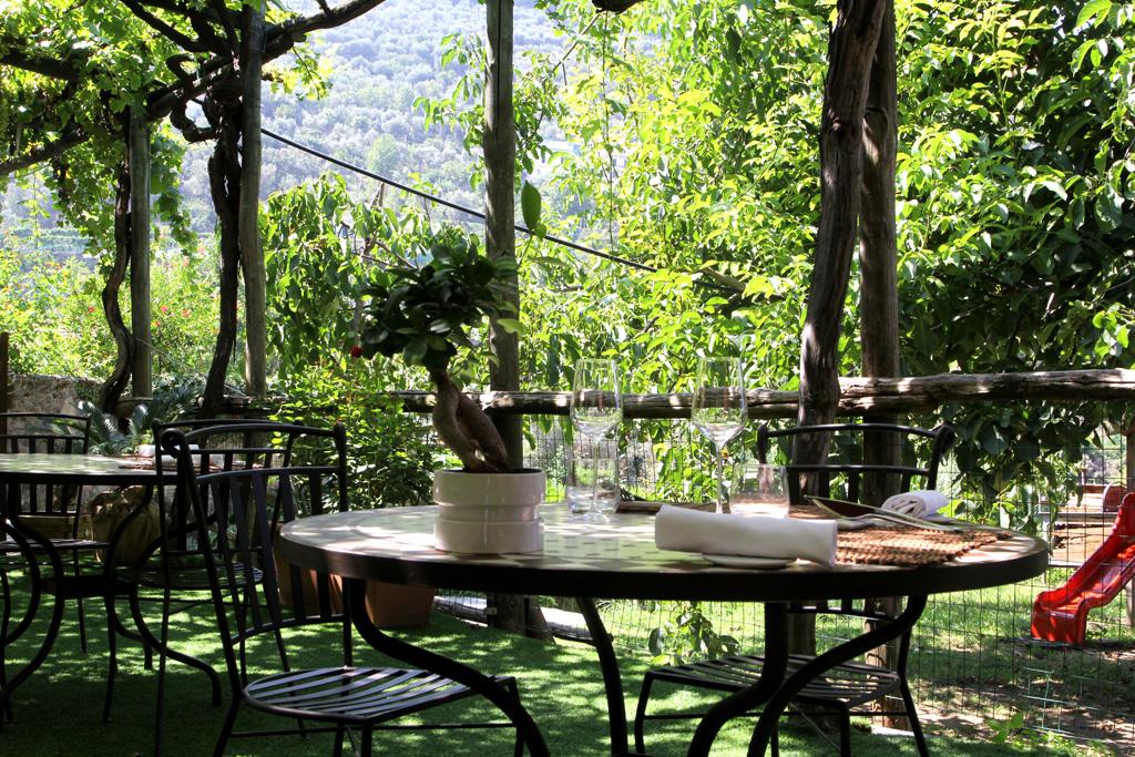 giardino, Villa Chiara, Chef Faby Scarica, Vico Equense