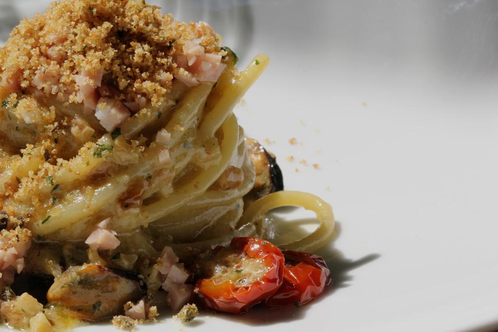 spaghettoni di gragnano, Villa Chiara, Chef Faby Scarica, Vico Equense