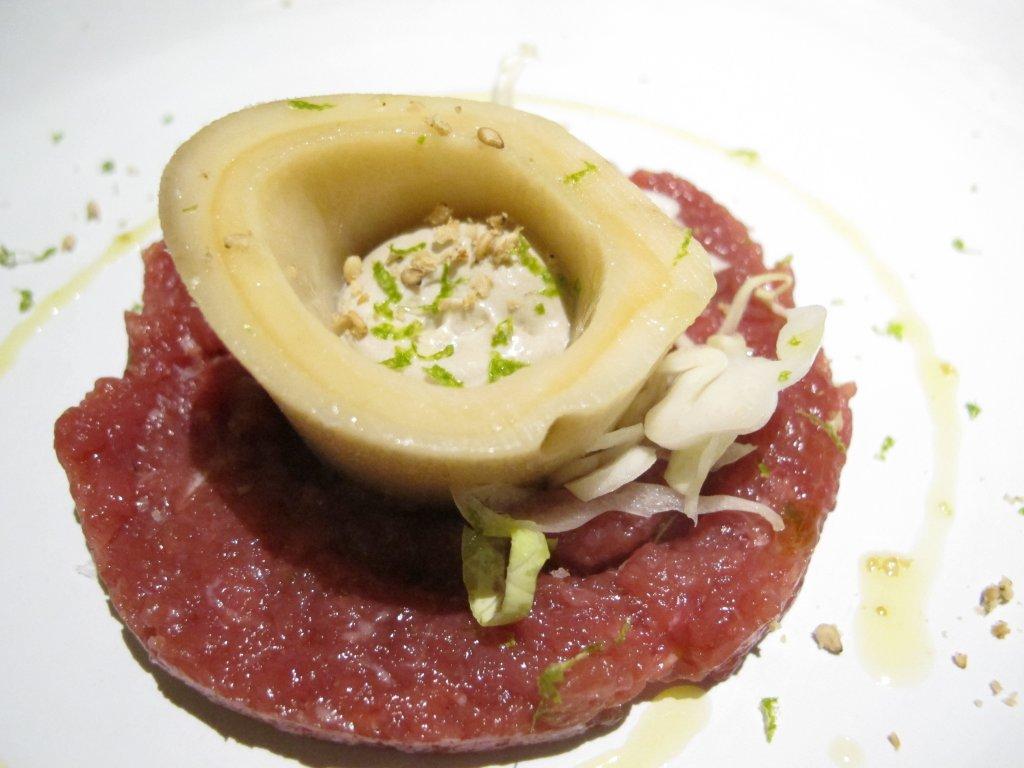 Osso buco, Aqua Crua, Chef Giuliano Baldessari, Barbarano Vicentino