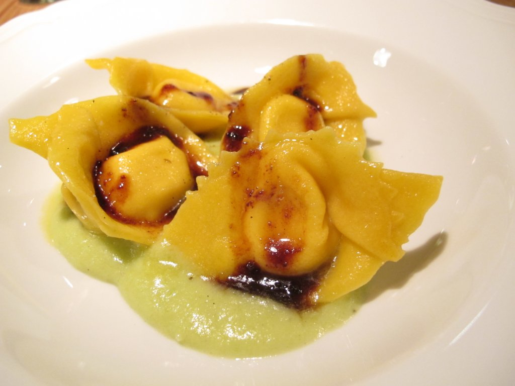 Tortelli, Esco Bistrò Mediterraneo, Chef Francesco Passalacqua, Milano