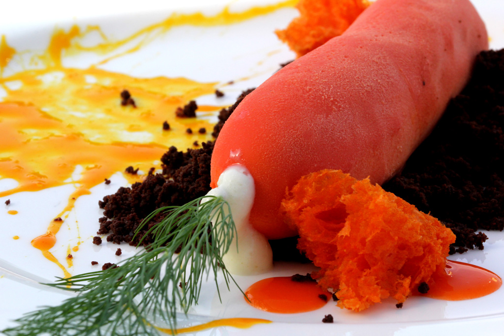 carota, JKitchen, JK Place, Chef Edoardo Estatico, Capri