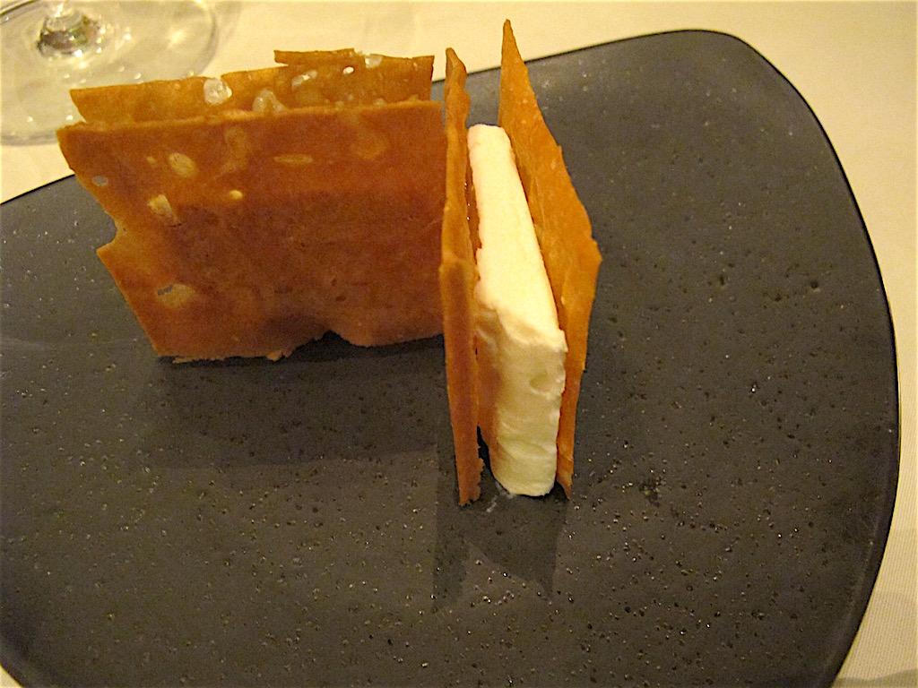 gelato al parmigiano, La Madonnina del Pescatore, Chef Moreno Cedroni, Marzocca di Senigallia