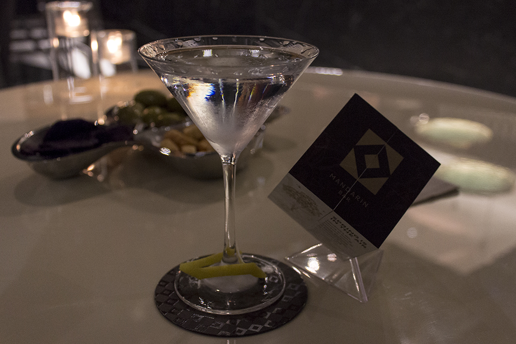 martini cocktail, Seta, Chef Antonio Guida, Mandarin Oriental, Milano