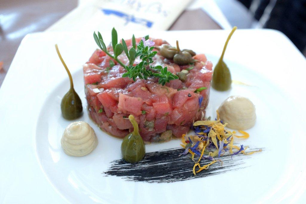 crudo di tono, Scjabica, Chef Joseph Micieli, Punta Secca, Santa Croce Camerina, Ragusa