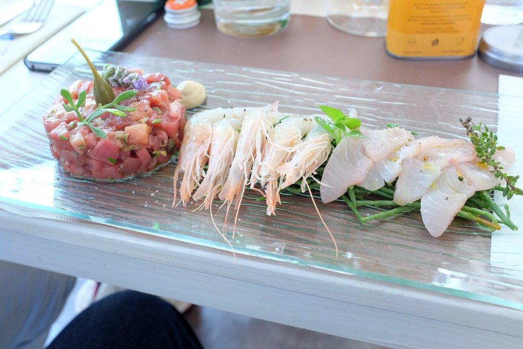 gamberi bianchi, Scjabica, Chef Joseph Micieli, Punta Secca, Santa Croce Camerina, Ragusa