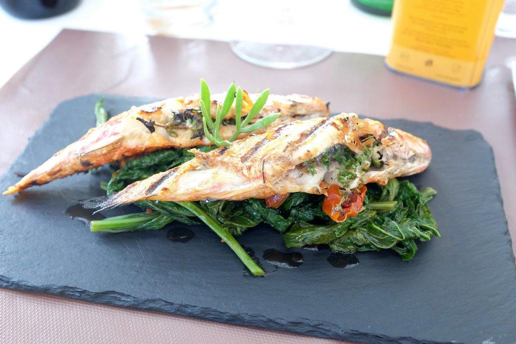 Triglie alla griglia, Scjabica, Chef Joseph Micieli, Punta Secca, Santa Croce Camerina, Ragusa