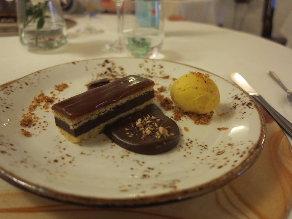 barretta al cioccolato, Al Porticciolo 84, Chef Fabrizio Ferrari, Lecco
