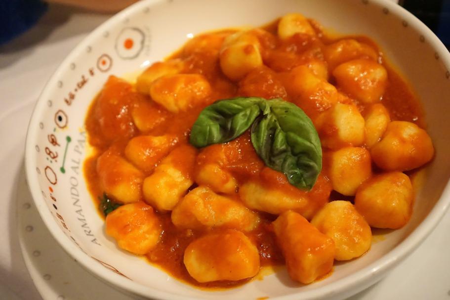 gnocchi al pomodoro, Armando al Pantheon, Chef Claudio Gargioli, Roma