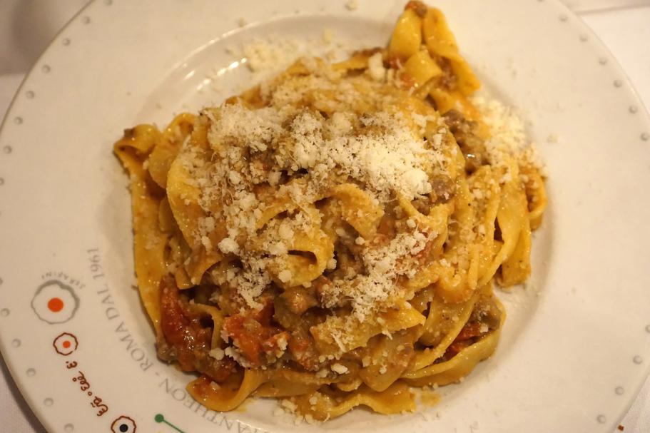 fettuccine, Armando al Pantheon, Chef Claudio Gargioli, Roma
