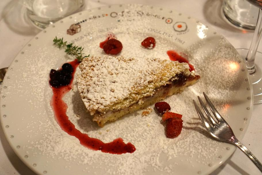 torta antica roma, Armando al Pantheon, Chef Claudio Gargioli, Roma
