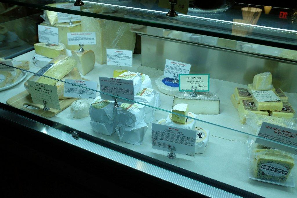 formaggi, Albero dei Gelati, Brooklyn, New York