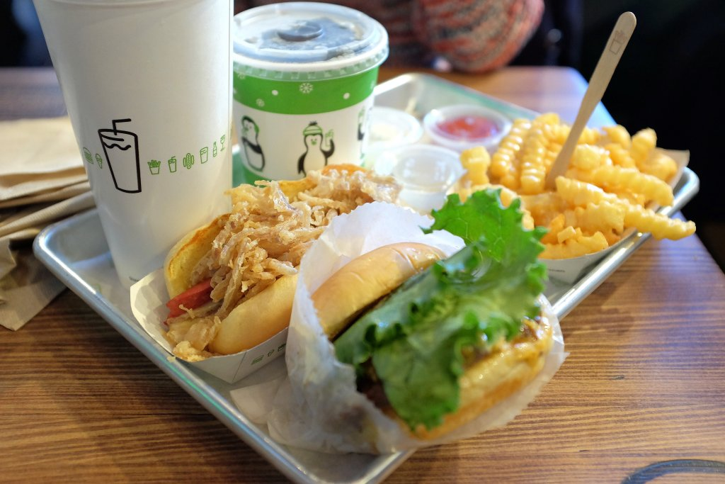 Shake Shack, Hamburger, New York