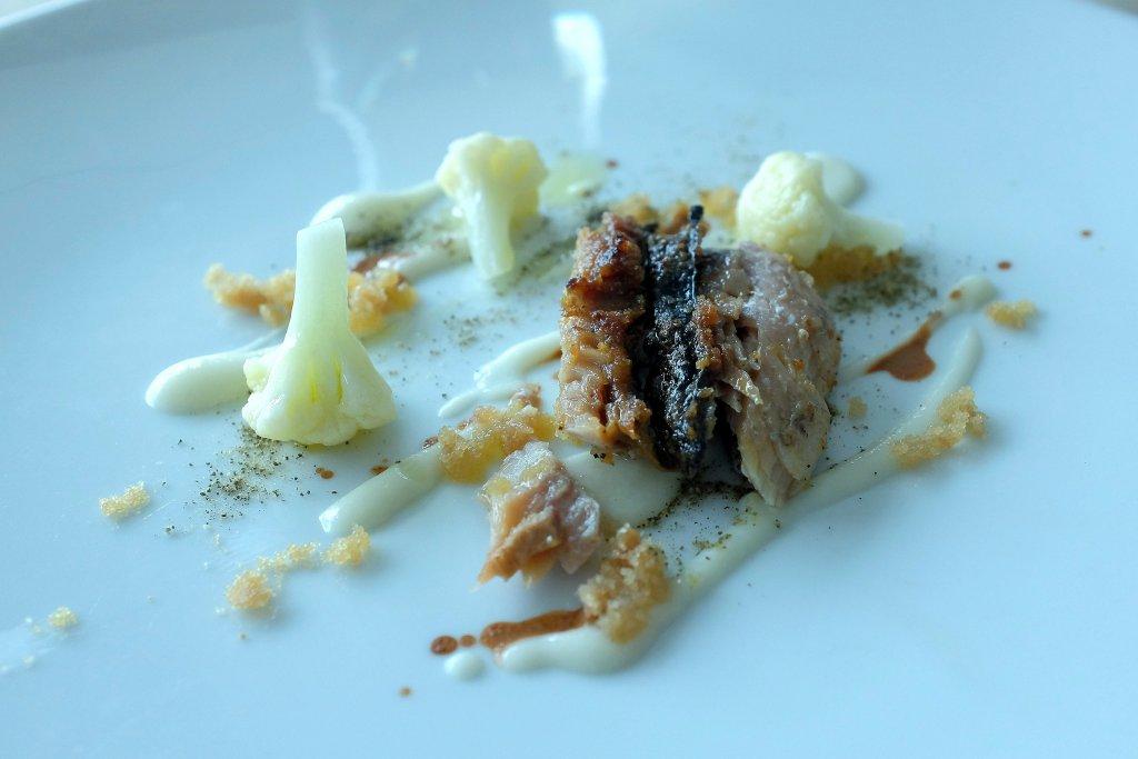 Cavolfiore all'aceto, Le Giare, Chef Gianluca Gorini, Montiano, Forlì-Cesena
