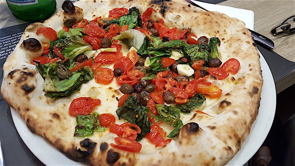 marinara con scarole, Pizzeria 50 Kalò, Ciro Salvo, Napoli