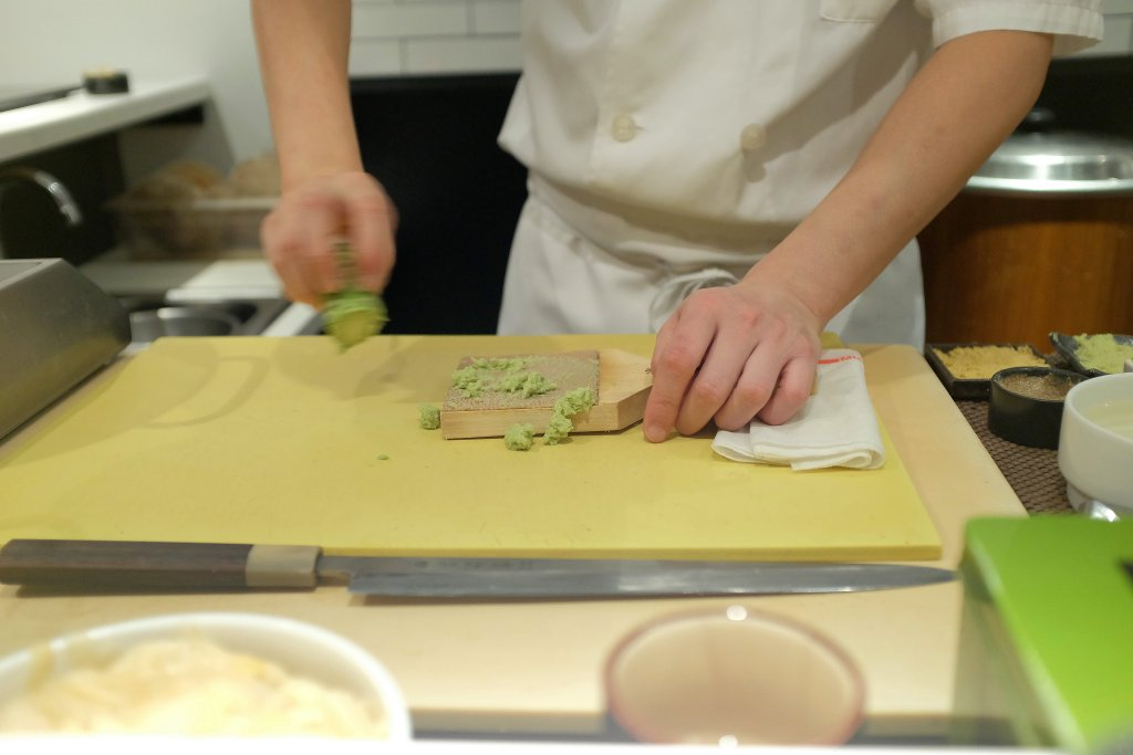 wasabi, Sushi Nakazawa, Daisuke Nakazawa, New York