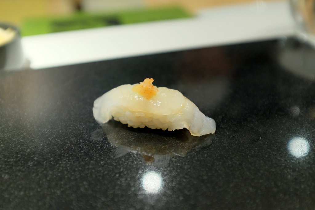 kelp fish, Sushi Nakazawa, Daisuke Nakazawa, New York