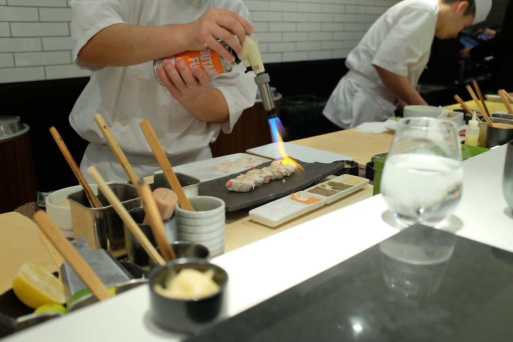 granchio reale, Sushi Nakazawa, Daisuke Nakazawa, New York