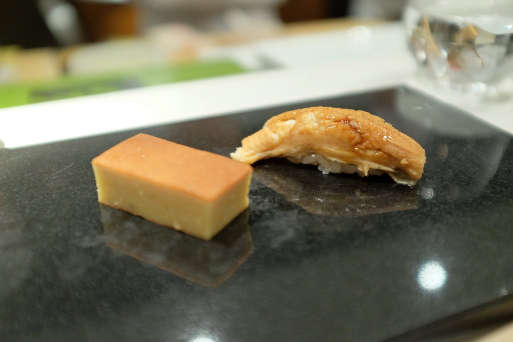 tamagoyaki, Sushi Nakazawa, Daisuke Nakazawa, New York