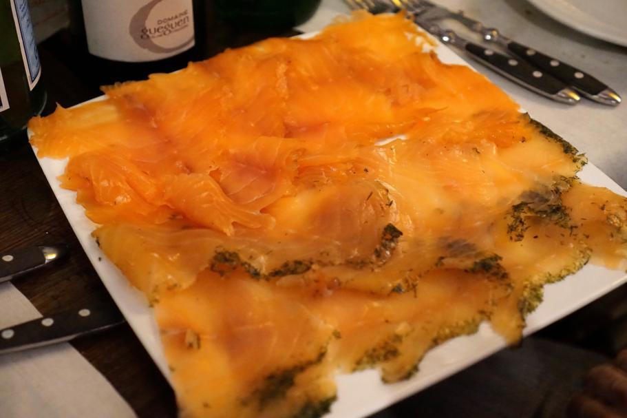 salmone, Roscioli, Chef Nabil Hadj Hassen, Roma