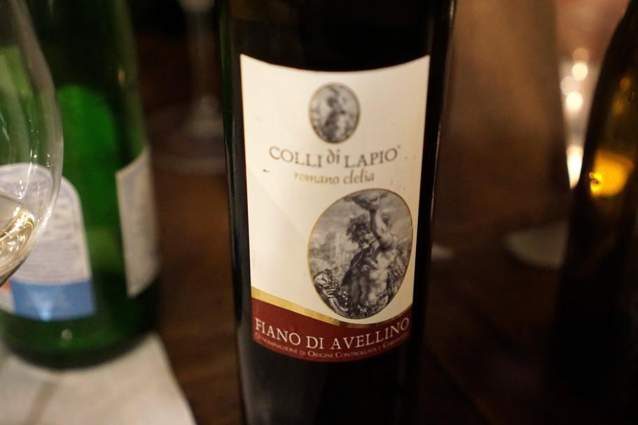 vino, Roscioli, Chef Nabil Hadj Hassen, Roma