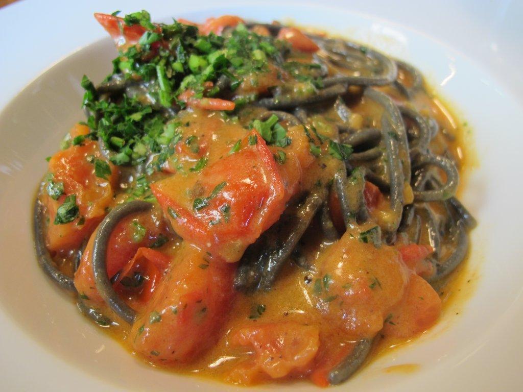 spaghetto, Spice Bistrò & Bar, Chef Misha Sukyas, Milano